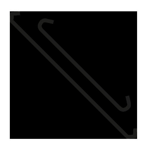 steel powder coating hooks