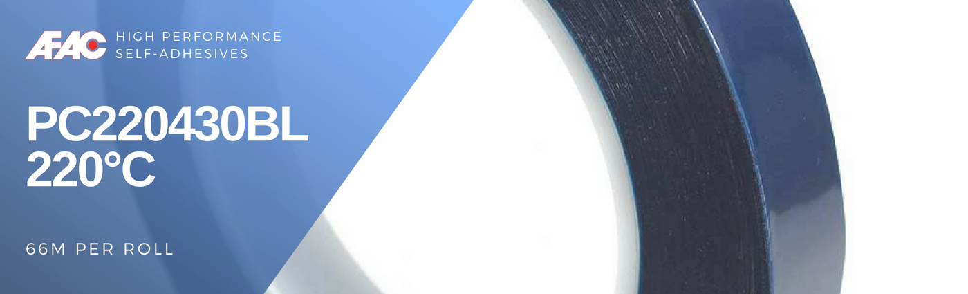 Blue Polyester Masking Tape