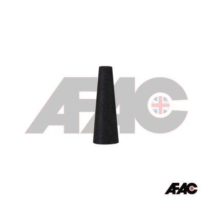 M6 Tapered Plug 4.8mm - 8.7mm x 25mm Silicone | 063-04.8L-BK