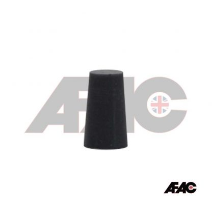 M10 | 11mm Tapered Plug Silicone 10.0mm - 12.5mm x 20mm | 063-10-GY