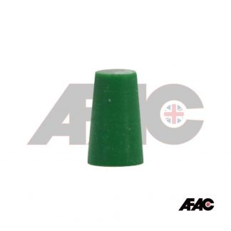 13mm 14mm 15mm Tapered Plug Silicone 12.7mm - 16.7mm x 25mm | 063-12.7-GN