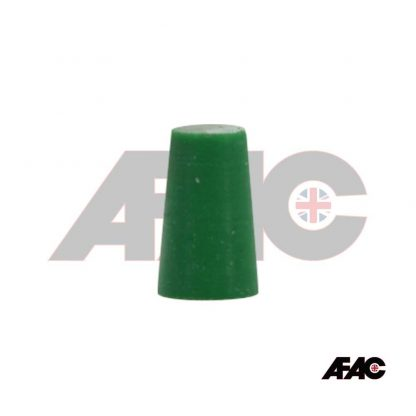13mm 14mm 15mm Tapered Plug Silicone 12.7mm - 16.7mm x 25mm   063-12.7-GN