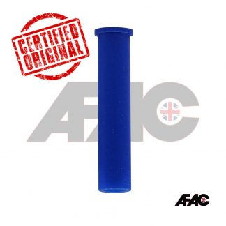 M10 Flat Top Silicone Cap | 074F-09.50-62BL | Blue | 62mm long