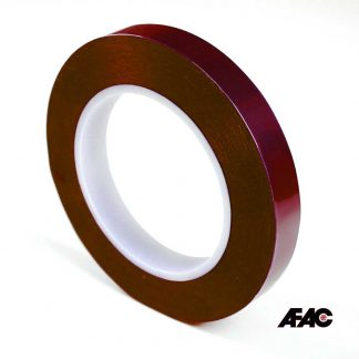 Red Polyester Masking Tape Powder Coating