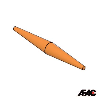 Silicone Rubber Plug | 093 | Hammerhead
