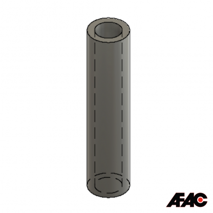 M4 Silicone Rubber Tube | Sleeve | 055 Bakewell Tube