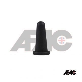 Powder Coating Plug Cone Cap | CO-14.0-19.0-BK