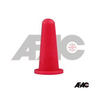Powder Coating Plug Cone Cap | CO-19.5-28.0-RD