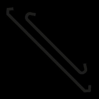 Copper plated Steel Powder Coating Hooks